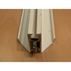 OCTANORM Zarge W 128/G.20 (W 102), 1360 mm + 2...